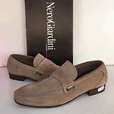 Scarpe Uomo Nero Giardini Shoes  N 42 Suede Aut Inv Made Italy Cod 40 € 129