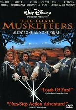 Three Musketeers (2002, DVD NEUF) CLR/CC/DTS/WS/FRA DUB/Keeper