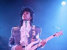 PRINCE * PURPLE RAIN * 1980'S CONCERT MUSIC 8X10 GLOSSY PHOTO PHOTOGRAPH