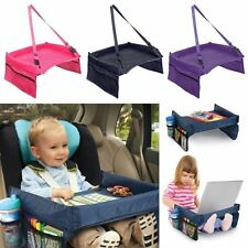 Baby Child Car Safety Seat Snack Play Tray Lap Table Portable Kids Travel New
