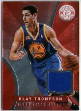 KLAY THOMPSON 2012 TOTALLY CERTIFIED MIRROR RED JERSEY ROOKIE RC CARD!
