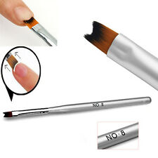 1pcs Acrylic UV Gel Nail Painting Drawing French Tips Manicure Pen Brush Design
