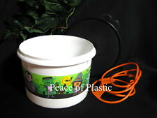 Tupperware NEW Halloween Candy Container Canister Bucket & Cariolier w/ Handle