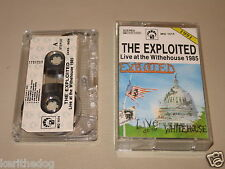 THE EXPLOITED - Live At The Whitehouse - MC Cassette un/official polish tape '91