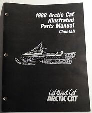 1988 ARCTIC CAT CHEETAH  SNOWMOBILE  PARTS  MANUAL P/N 2254-450  (907)