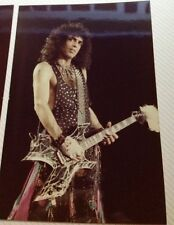 KISS Paul Stanley close up Animalize Tour 3 x 5 photo Its the Eyes...
