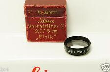 Leica E Leitz Vorsatzlinse 2 für 3,5/5 cm  6079