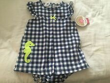 NWT Child of Mine By Carters Sunsuit  18 Months