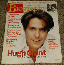 BIOGRAPHY MAGAZINE MARCH 2001 KATIE COURIC COVER