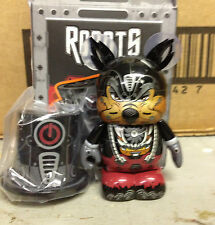 "Big Bad Wolf Bot 3"" Vinylmation Robots Series #4 Villains Three Little Pigs Hat"