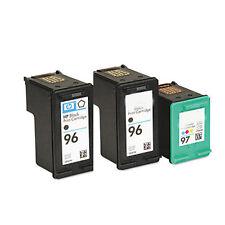 2X HP96+HP97 Reman Ink Cart 84% More Ink Deskjet 460 460c 460cb,460wbt 460wf