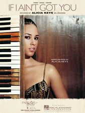 If I Ain't Got You Sheet Music Piano Vocal Alicia Keys NEW 000352761