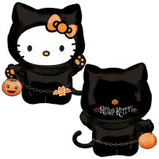 "30"" Halloween HELLO KITTY Cat Character Costume Foil Supershape Balloon"