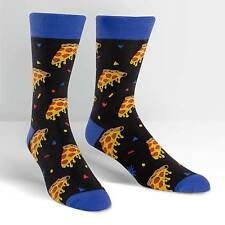 Sock It To Me Men's Crew Socks - Pizza Party