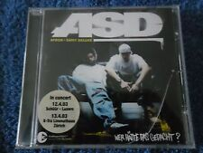 CD-ASD- WER HÄTTE DAS GEDACHT?-AFROB.SAMY DELUXE.CONCERT 2003-20 TRACK-GERMANY