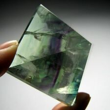 Rainbow Fluorite Crystal Pyramid Carving-flp42ie0134