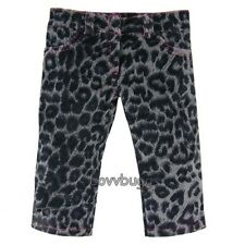 """Gray Animal Print Leopard Jeans for 18"""" American Girl Doll Widest Selection!"""