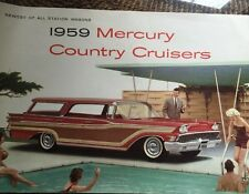 1959 Mercury Country Cruisers Brochure