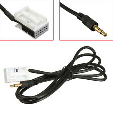 3.5mm Aux Lead In Input Cable Adaptor For Citroen Peugeot 207 MP3 iPod iPhone