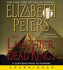The Laughter of Dead Kings  by Elizabeth Peters Audiobook 10 CDs Unabridged