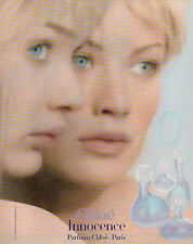 Publicité Advertising 1998  Parfum  Chloe  Innocence  Parfums