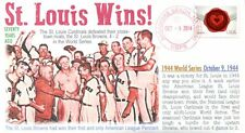 COVERSCAPE computer designed 70th of the St. Louis Browns vs Cardinals cove