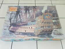 Heller 1/100 Le Soleil Royal Ship 1669 Vintage Kit Good Condition Very Rare