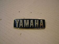 YAMAHA XS1100 REAR COWL OR SEAT BADGE,  CAST  REPRODUCTION SIDE COVER BADGE.