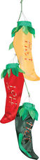 Bunch of Chillies Windsock for Caravan or festival