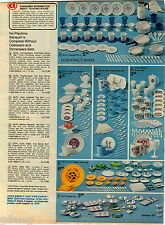 1977 ADVERT Toy Tea Sets Holly Hobbie Mickey Mouse Corning Ware Cornflower