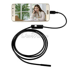 3.5M 7mm 6 LED Waterproof USB Inspection Camera  Android Snake Scope Endoscope
