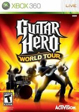 Microsoft XBox 360 Game Disc GUITAR HERO WORLD TOUR