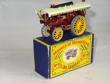 lesney matchbox YESTERYEAR MOY - FOWLER SHOWMANS TRACTION ENGINE - 9