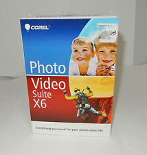 Corel Photo Video Suite x6 PaintShop Pro & VideoStudio Editing Software
