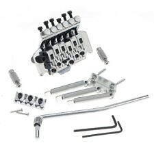 Chrome Floyd Rose Lic Ibanez Guitar Bridge Edge Style Double Tremolo System