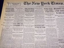 1931 APRIL 12 NEW YORK TIMES - ISAAC GIMBEL DIES OF PNEUMONIA AT 74 - NT 2447