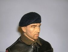 Banjoman 1:6 Scale Custom Made Beret - Dark Blue