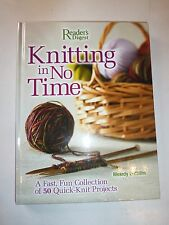Knitting in No Time,A Fast,Fun Collection of 50 Quick-Knit Projects,Griffiths178