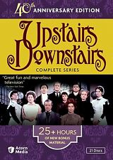 Upstairs Downstairs - The Complete Series (DVD, 2011, 21-Disc Set) 40th Anniv...