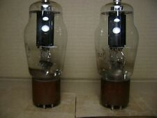 Pair of RCA 807 Black Plate Red Label Audio Tube puts the Magic in the Music