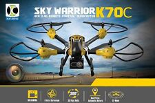 K70C Sky 2.4G 4CH 6 Axis 3D Headless 2MP Camera RC Quadcopter Drone US SELLER