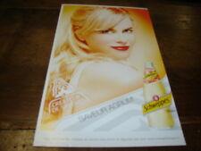 NICOLE KIDMAN - Publicité de magazine SCHWEPPES SAVEUR AGRUM' !!!!!!!!!!!