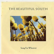 "The Beautiful South - Song For Whoever 7"" Single 1989"