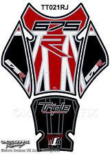 Triumph Street Triple Daytona 675r 13 - 16 Motorcycle Tank Pad 3D Gel Protector