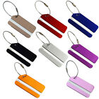 Metal Luggage Tag Address Name Holder Secure ID Label Travel Bag Baggage Awesome