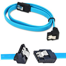 1X SATA 3.0 III 6Gb/s SSD HDD Drive Data A Curved And A Straight Angle Cable CAT