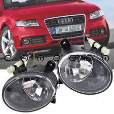 For Audi A4 B8 Sedan H11 Halogen Bulb Clear Glass Lens Front Fog Driving Light