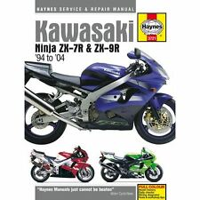 Workshop Manual Kawasaki ZX-7R(ZX750P)96-03, ZX-9R(ZX900B, C, D, E) 94-04