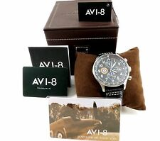 "AVI-8 ""Hawker Hurricane"" Men's Watch  AV-4011-02 New with Tags Free Shipping"