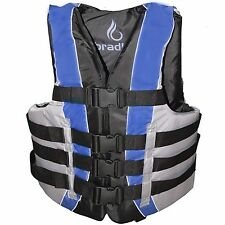 Bradley Adult 4XL/5XL/6XL  Life Jacket Fully Enclosed Coast Guard PFD Ski Vest